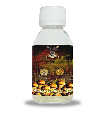 D.I.Y. - 50ml CAPTAIN'S CUSTARD DONUT 0mg High VG TPD Compliant Shake & Vape eLiquid by Isle of Custard