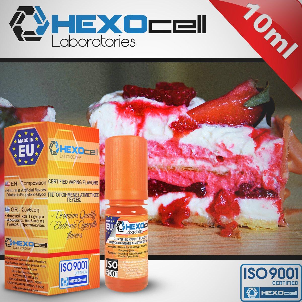 D.I.Y. - ΑΡΩΜΑ - HEXOCELL 10ML - BLOODLUST CREAM (ΕΞΩΤΙΚΑ ΦΡΟΥΤΑ, ΑΝΘΗ, ΒΑΝΙΛΙΑ & ΜΠΙΣΚΟΤΟ) - 10%