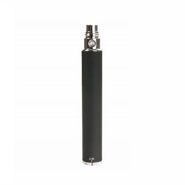 ΜΠΑΤΑΡΙΑ - eGo Spinner 1300mA Μπαταρία Υψηλής Ποιότητας Μεταβλητής τάσης ( 3.3V - 4.8V ) - ΜΑΥΡΗ