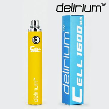 ΜΠΑΤΑΡΙΑ - DELIRIUM CELL 1600mA eGo/eVod Υψηλής ποιότητας ( ΚΙΤΡΙΝΗ )