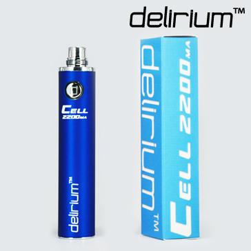 ΜΠΑΤΑΡΙΑ - DELIRIUM CELL 2200mA eGo/eVod Υψηλής ποιότητας ( ΜΠΛΕ )