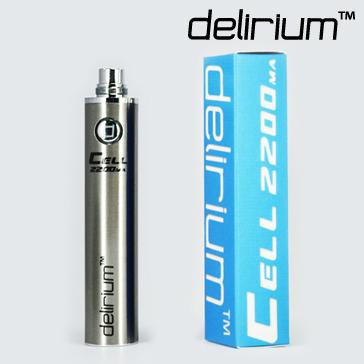 ΜΠΑΤΑΡΙΑ - DELIRIUM CELL 2200mA eGo/eVod Υψηλής ποιότητας ( ΑΣΗΜΙ )