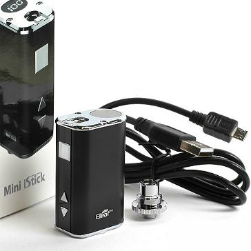 KIT - Eleaf Mini iStick 10W - 1050mA VV ( ΜΑΥΡΟ )