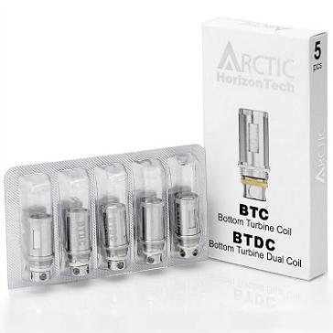 ΑΤΜΟΠΟΙΗΤΉΣ - 5x BTDC Atomizer Heads for HORIZON Arctic ( 0.5 ohms )