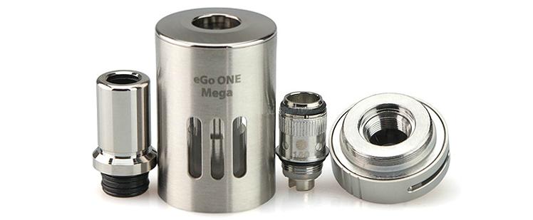 KIT - Joyetech eGo ONE Mega 2600mAh Sub Ohm Kit ( Stainless )