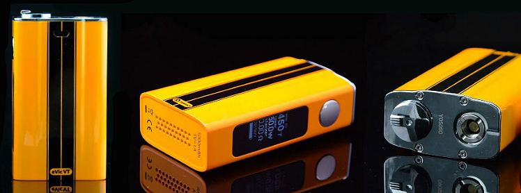 KIT - Joyetech eVic VT Sub Ohm 60W Express Kit ( Racing Yellow )