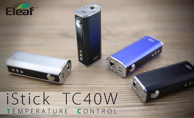 KIT - Eleaf iStick 40W TC ( Black )