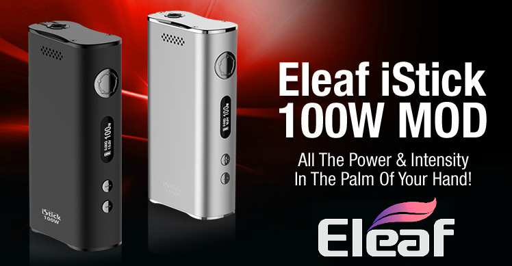 KIT - Eleaf iStick Sub Ohm 100W - Dual 18650 VV/VW ( Black )