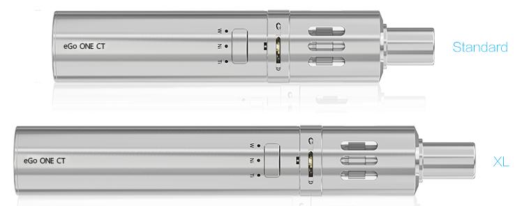 KIT - Joyetech eGo ONE CT 1100mAh Constant Temperature Kit ( Stainless )