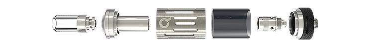 ΑΤΜΟΠΟΙΗΤΗΣ - PuFF - AVATAR Q25 ( 1.5oHm - STAINLESS ) - 2.5ML