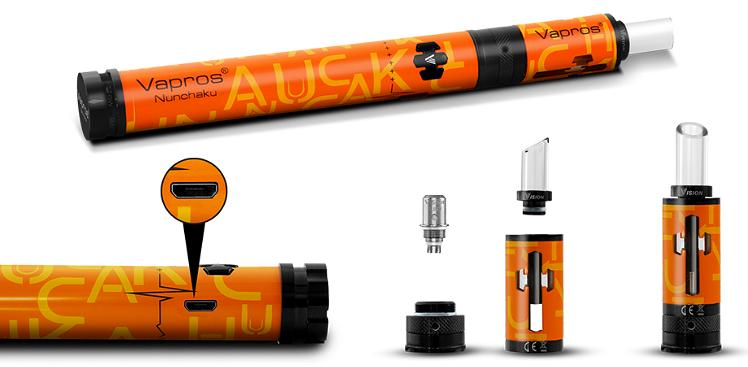 KIT - VISION / VAPROS Nunchaku & V-Spot Full Kit ( Stainless )