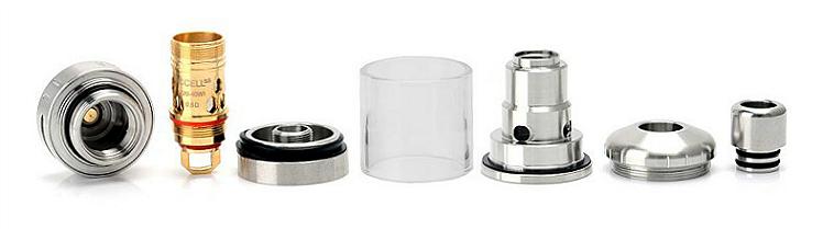 ΑΤΜΟΠΟΙΗΤΉΣ - VAPORESSO Target Pro cCell Ceramic Coil Atomizer ( Silver )
