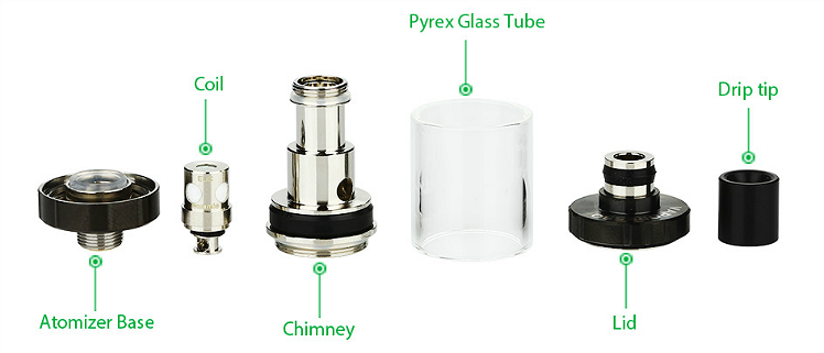 KIT - VAPORESSO Drizzle ( Stainless )