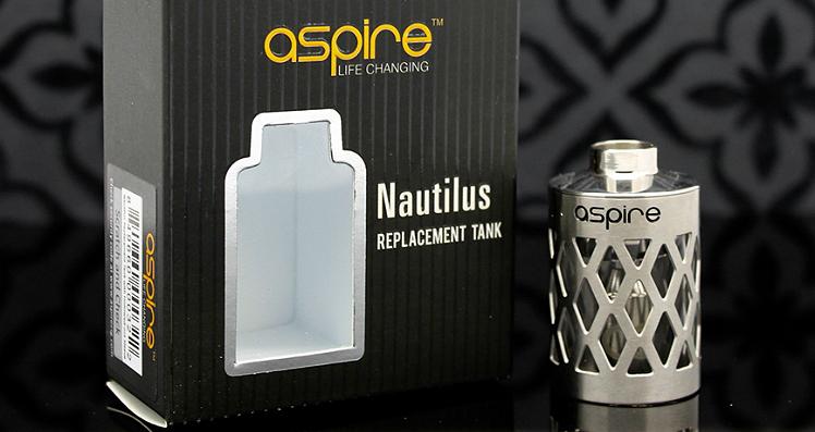 ΑΤΜΟΠΟΙΗΤΉΣ - ASPIRE Nautilus Assy Hollow Core Caged Γυάλινη Δεξαμενή με Μεταλλικό εξωτερικό Πλέγμα  - 5ML Χωρητικότητα - 100% Αυθεντική