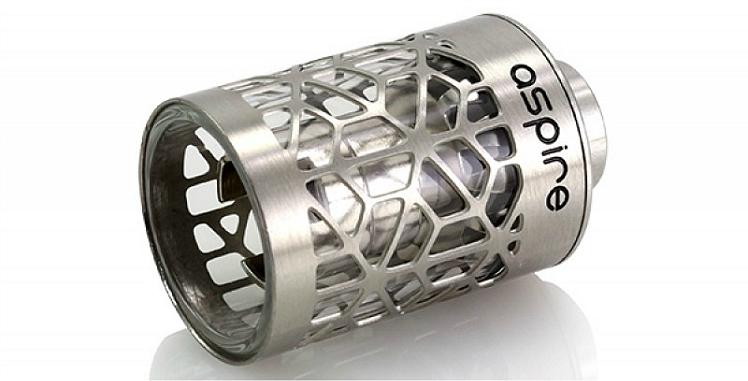 ΑΤΜΟΠΟΙΗΤΉΣ - ASPIRE Atlantis Assy Hollow Core Caged Glass Tank ( Steel Cage )