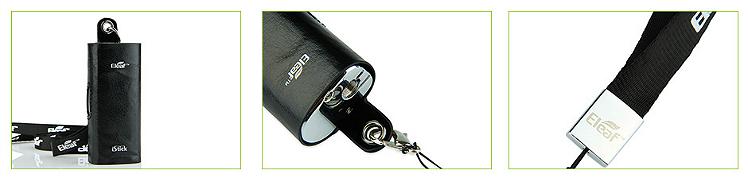 ΑΞΕΣΟΥΆΡ / ΔΙΆΦΟΡΑ - Eleaf iStick 20W/30W Leather Carry Case with Lanyard ( Black )