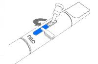 KIT - Janty Neo Classic Διπλή Κασετίνα με Kuwako E-Pipe Επέκταση ( ΑΣΗΜΙ ) εικόνα 12