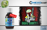 100ml BABA'S BOUNTY 18mg eLiquid (With Nicotine, Strong) - Natura eLiquid by HEXOcell εικόνα 1