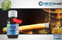 100ml CIGAR PASSION 18mg eLiquid (With Nicotine, Strong) - Natura eLiquid by HEXOcell εικόνα 1