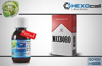 100ml MAXBORO 9mg eLiquid (With Nicotine, Medium) - Natura eLiquid by HEXOcell εικόνα 1