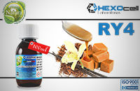 100ml RY4 18mg eLiquid (With Nicotine, Strong) - Natura eLiquid by HEXOcell εικόνα 1