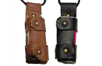 ΑΞΕΣΟΥΆΡ / ΔΙΆΦΟΡΑ - Argo iStick 20W/30W Leather Carry Case with Lanyard ( Black ) εικόνα 1