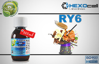 100ml RY6 18mg eLiquid (With Nicotine, Strong) - Natura eLiquid by HEXOcell εικόνα 1