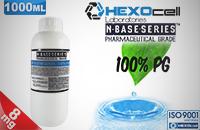 D.I.Y. - 1000ml HEXOcell eLiquid Base (100% PG, 8mg/ml Nicotine) εικόνα 1