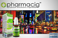 30ml NEW YORK CITY 9mg eLiquid (With Nicotine, Medium) - eLiquid by Pharmacig εικόνα 1