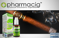 30ml CIGAR TOBACCO 9mg eLiquid (With Nicotine, Medium) - eLiquid by Pharmacig εικόνα 1