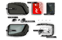 ΚΑΣΕΤΙΝΑ - PuFF AVATAR FX ( FULL KIT BLACK ) εικόνα 8