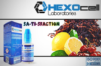 30ml SA-TI-SFACTION 9mg eLiquid (With Nicotine, Medium) - eLiquid by HEXOcell εικόνα 1