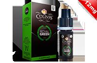 10ml ROYAL GREEN 12mg eLiquid (Tobacco & Mint) - eLiquid by Colins's εικόνα 1