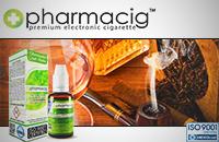 30ml TOBACCO & COGNAC 9mg eLiquid (With Nicotine, Medium) - eLiquid by Pharmacig εικόνα 1