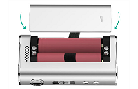 KIT - Eleaf iStick Sub Ohm 100W - Dual 18650 VV/VW ( Silver ) εικόνα 6