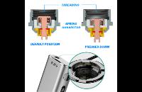 KIT - Eleaf iStick Sub Ohm 100W - Dual 18650 VV/VW ( Silver ) εικόνα 7