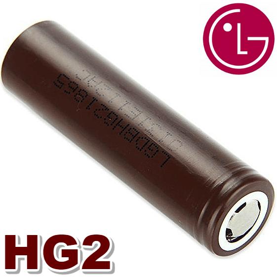 ΜΠΑΤΑΡΙΑ - 18650 LG HG2 INR 3000mA (BROWN) εικόνα 1