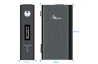 KIT - IJOY Asolo 200W TC Box Mod with Flavor Mode ( Stainless ) εικόνα 2