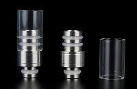 ΑΞΕΣΟΥΆΡ / ΔΙΆΦΟΡΑ - 510 Detachable Top Pyrex & Metal Drip Tip εικόνα 1