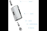 KIT - Joyetech eGrip OLED CL 30W VV/VW ( Stainless ) εικόνα 4