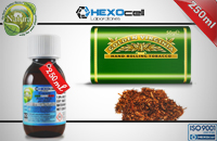 250ml VIRGINIA 18mg eLiquid (With Nicotine, Strong) - Natura eLiquid by HEXOcell εικόνα 1