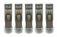 ΦΊΛΤΡΑ / ΔΕΞΑΜΕΝΈΣ - 5x eGo-T/eGo-C Δεξαμενές με τάπα σιλικόνης στο κάτω μέρος ( Μαύρο ) εικόνα 1