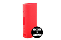 ΑΞΕΣΟΥΆΡ / ΔΙΆΦΟΡΑ - Kanger Kbox Mini & Subox Mini Protective Silicone Sleeve ( Red ) εικόνα 1