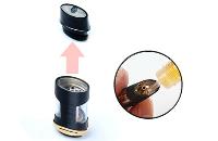 ΚΑΣΕΤΙΝΑ - PuFF - AVATAR 2 ECONOMY KIT - BLACK & GOLD (NERO) - ECONOMY KIT εικόνα 7