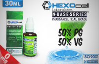 D.I.Y. - 30ml HEXOcell eLiquid Base (50% PG, 50% VG, 0mg/ml Nicotine) εικόνα 1