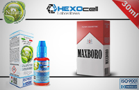 30ml MAXBORO 3mg eLiquid (With Nicotine, Very Low) - Natura eLiquid by HEXOcell εικόνα 1