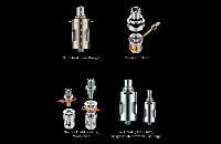 ΑΤΜΟΠΟΙΗΤΉΣ - VAPORESSO Guardian cCell Ceramic Coil Atomizer ( Silver ) εικόνα 6