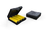 ΑΞΕΣΟΥΆΡ / ΔΙΆΦΟΡΑ - CHUBBY GORILLA Quad/Four 18650 Battery Case ( Black ) εικόνα 1