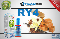 30ml RY4 3mg eLiquid (With Nicotine, Very Low) - Natura eLiquid by HEXOcell εικόνα 1