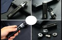 KIT - Eleaf iJust S Sub Ohm Starter Kit ( Black ) εικόνα 2